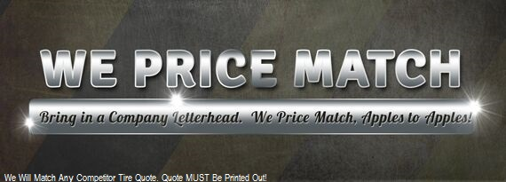 Price Match Guarantee in Chestertown and Rock Hall MD