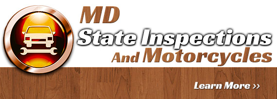 MD State Inspections And Motorcycles